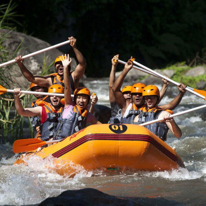 aloha ubud swing rafting